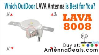LAVA hd-8008 digital antenna