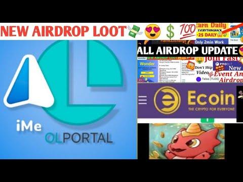 new-airdrop-loot😍-|-10$-signup-bonus🎉-|-wonder-coin,atomic-wallet,-libra-dragon,-ecoin-update-😍🔥