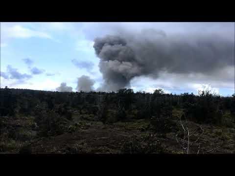 Halemaumau Crater Volcano National Park 5/15