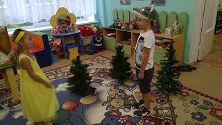 """Сказка """"Колобок"""". Безопасность в детском саду."""