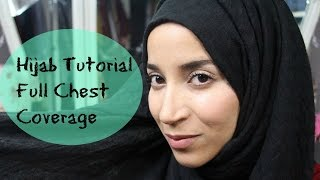 Hijab Tutorial Full Chest Coverage Thumbnail