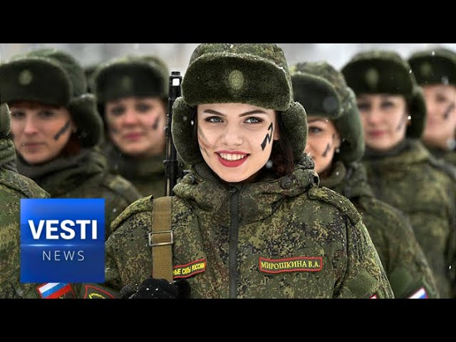 Woman In The Military 50 000 Women Work In Russian Armed Forces But Not On The Frontlines
