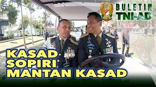 Kasad Sopiri Mantan Kasad | BULETIN TNI AD Eps 267 4/5