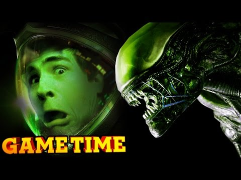 STUPID SCARY ALIENS - ALIEN: ISOLATION (Gametime w/ Smosh Games)