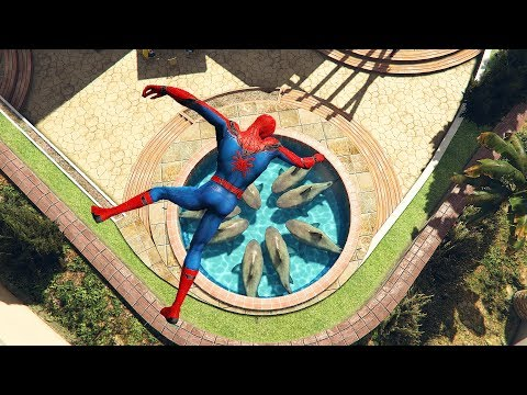 GTA 5 Funny Spiderman Ragdolls Ep.1