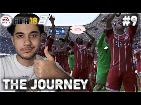 wir gewinnen das DOUBLE! und das Ende in The Journey Fifa 18 #9