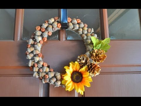 Fall Acorn Wreath