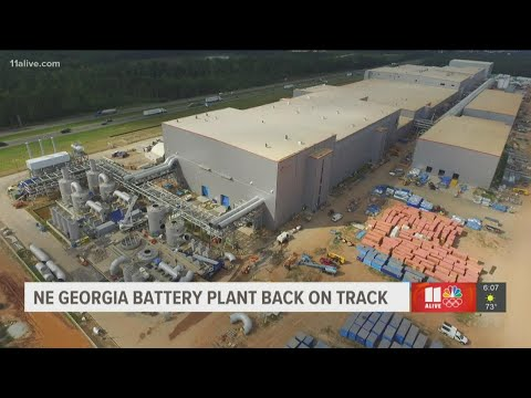 Electric vehicle battery firms reach settlement in trade spat involving $2.6B Georgia plant