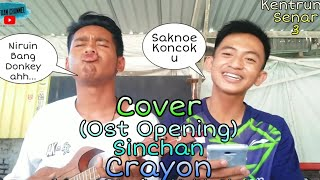 (NGAKAK BANGET) Crayon - Sinchan (Ost Opening Sinchan) Cover Kentrung Senar 3 By_Zafaan Channel