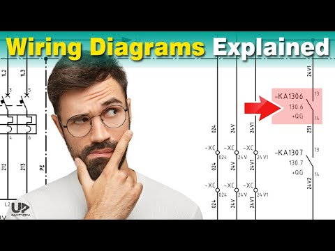 how to read electrical diagrams  wiring diagrams explained  control panel  wiring diagram