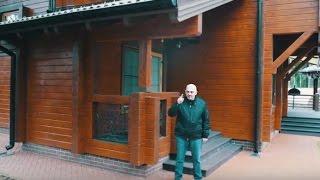 видео Бассейн в деревянном доме