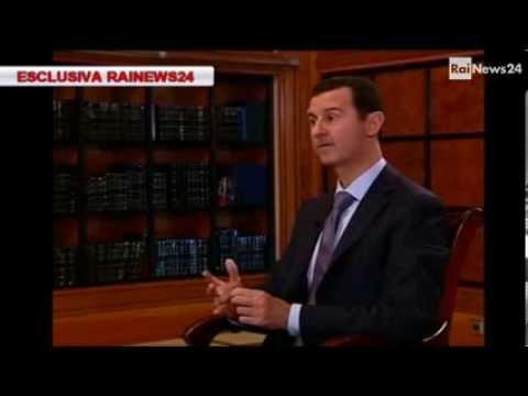 Esclusiva Rainews24: Monica Maggioni intervista il presidente siriano Bashar al-Assad.