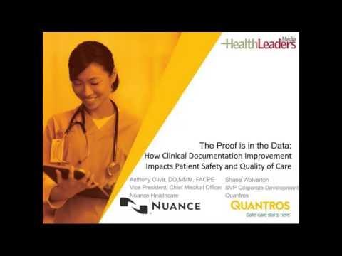 Improve quality ratings with clinical documentation improvement (CDI)