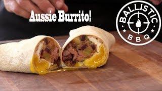 Aussie Burrito Recipe | Australian Inspired Burrito