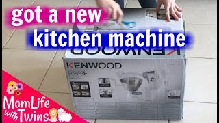 KENWOOD PROSPERO KM280 KITCHEN MACHINE | UNBOXING