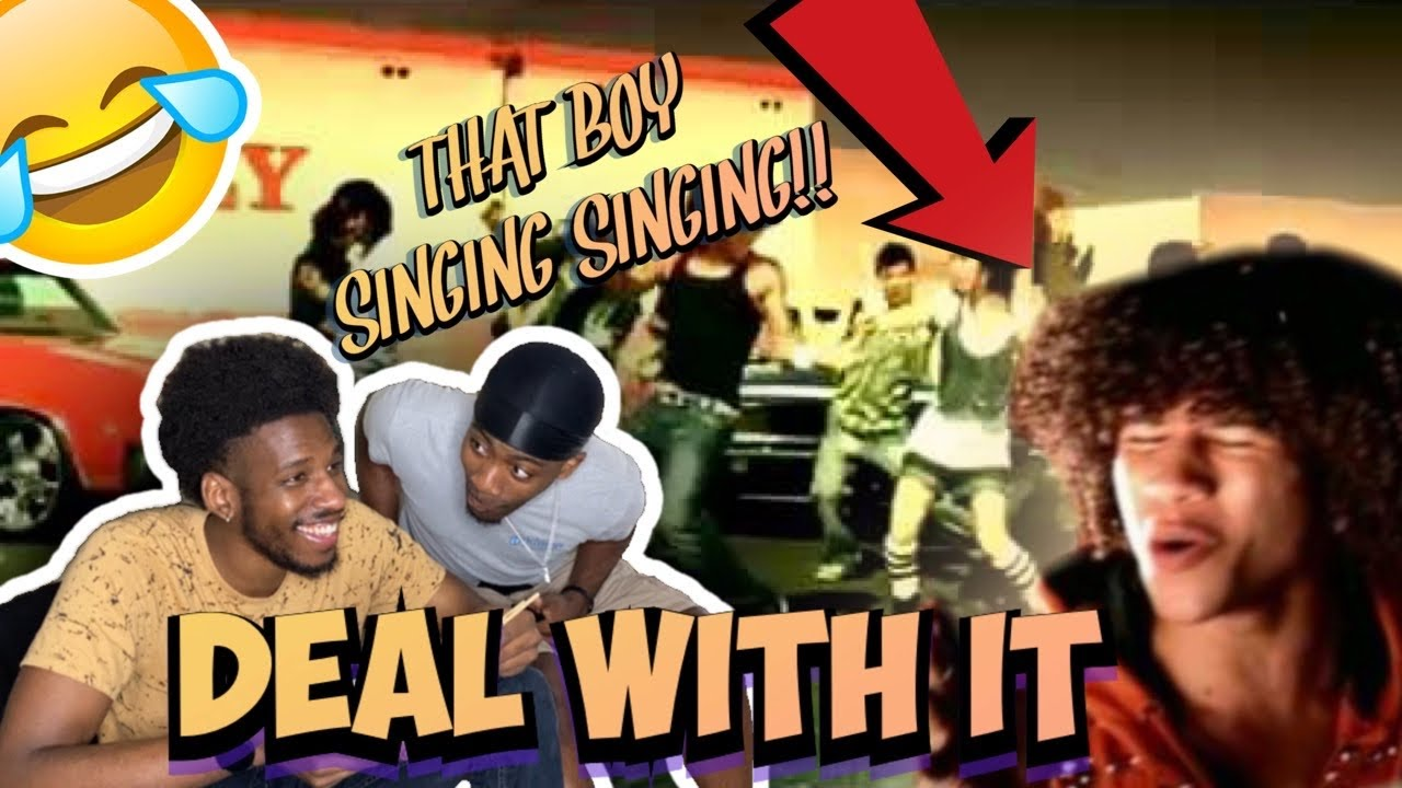 THAT BOY SINGING SINGING!!!! Corbin Bleu - Deal With it (FUNNY REACTION)