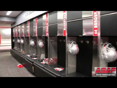 ASAP at Ohio State: Renovated Football Locker Room