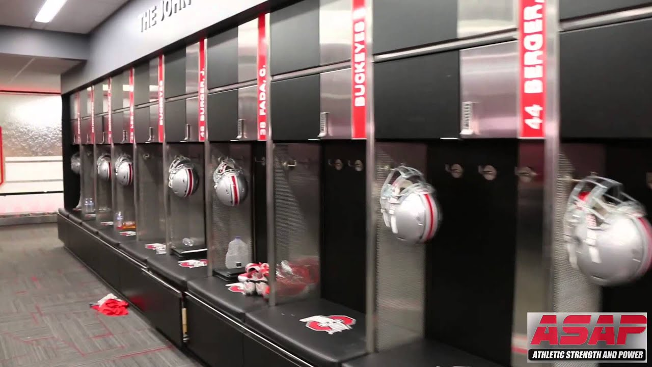 Asap At Ohio State Renovated Football Locker Room Youtube