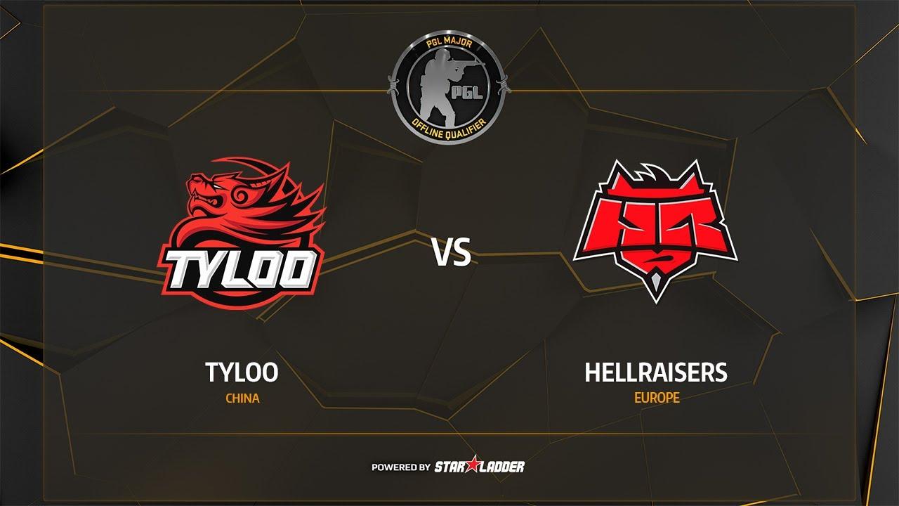 TyLoo vs HellRaisers, overpass, PGL Major Krakow 2017 Main Qualifier