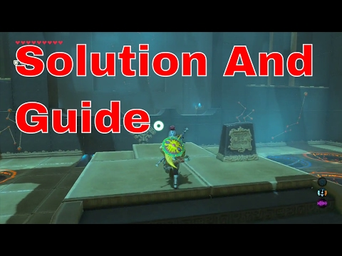 The legend of zelda breath of the wild Keo Ruug shrine guide how to solve