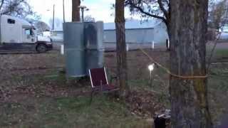 Savonius Vertical Axis Wind Turbine BackRoom Labs