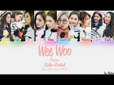 Free Download Wee Woo Han/rom/eng/pt-br-pristin-color Coded Mp3 dan Mp4