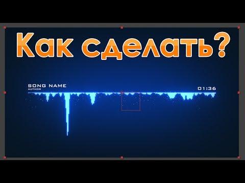Как сделать аудио визуализатор