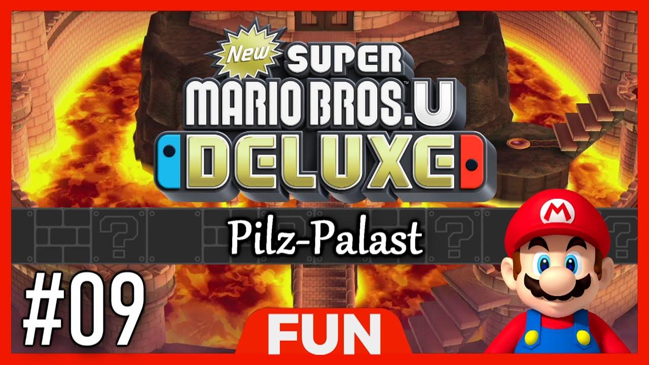 new super mario bros u  deluxe 🍄 pilzpalast switch