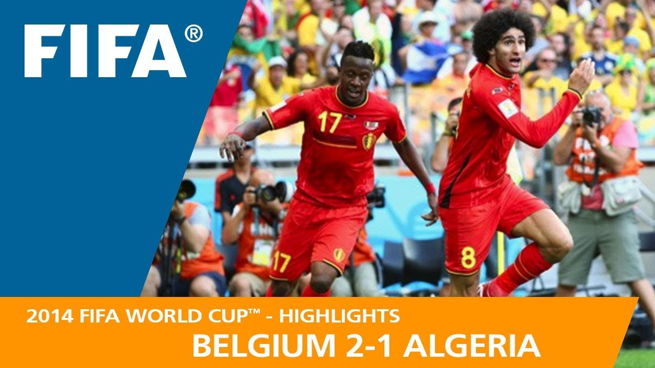 BELGIUM v ALGERIA (2:1) - 2014 FIFA World Cup™