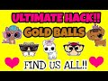 GOLD BALL HACK LOL SURPRISE PETS: MC HAMMY CHERRY HAM CRYSTAL BUNNY SPLASH MEOW MAID FANCY HAUTE DOG