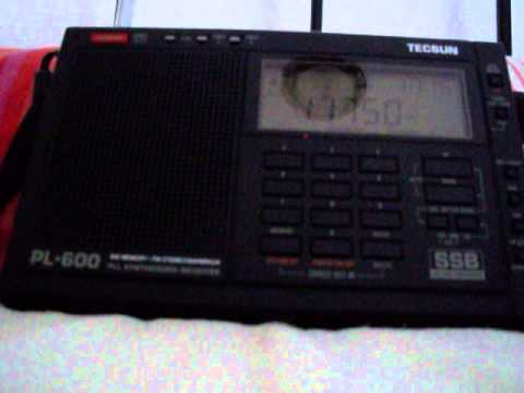 Sri Lanka Broadcasting Corp. in Sinhalese - Shortwave 11750 kHz 8.6.2015 1720 UTC