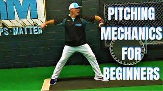 Youth Baseball Pitching 9 - 14 - H๐w To Baseball Pitching Mechanics