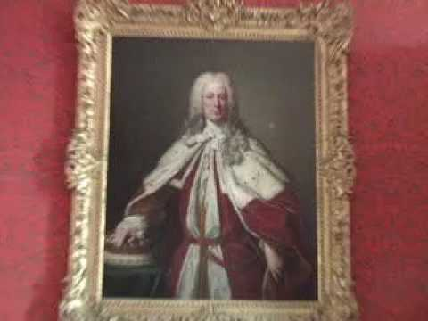 Duke of Manchester at his family Castle Kimbolton leased to the school till 2020