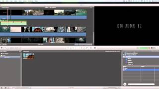 Hướng dẫn sử dụng phầm mềm  iMovie (phần 4) thumbnail