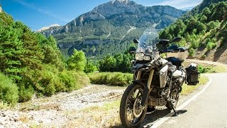 F800GS Alps Tour - Gorges de Daluis