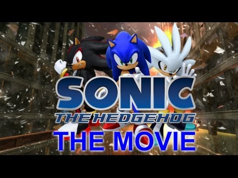 Sonic The Hedgehog 2006  THE MOVIE  Full Movie ALL