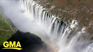'Extraordinary Earth' explores Victoria Falls in Zimbabwe l GMA