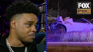 Errol Spence Jr.'s first comments since scary crash: I'll be back real soon | INTERVIEW | PBC ON FOX