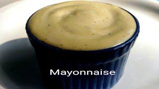 Mayonnaise Recipe ll Garlic Mayonnaise ll Homemade Mayonnaise Recipe ll