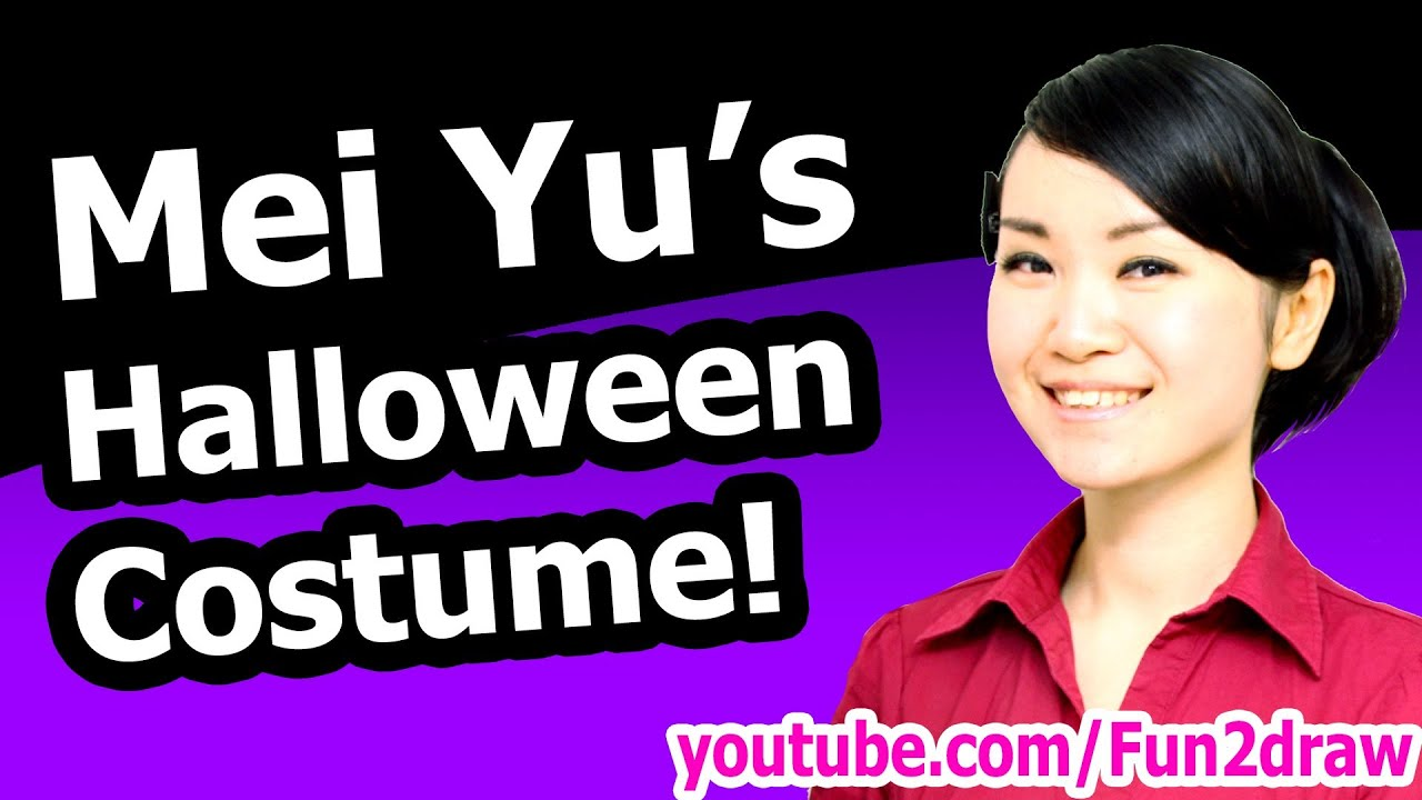 Mei Yus Halloween Costume How To Draw Tutorial YouTube