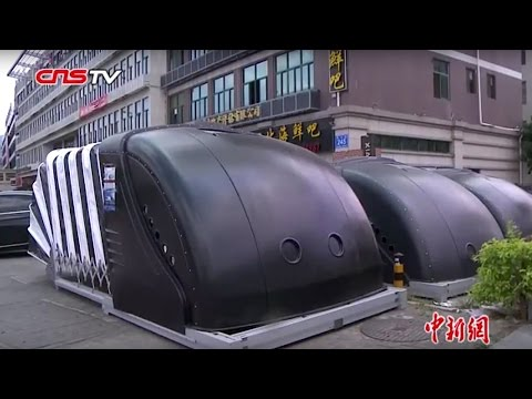 移动车库现身福州街头 / Mobile garages in Fuzhou