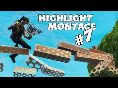 Fortnite Highlight Montage #7 |Fortnite Battle Royale| BUILDING INCLUDED!!!
