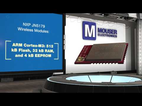 NXP Semiconductors JN5179 ZigBee / Thread Wireless Modules - New Product Brief | Mouser Electronics