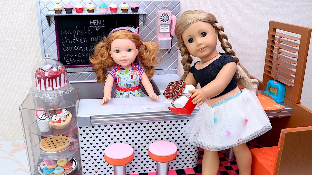 Doll opens new sweet shop with candy treats