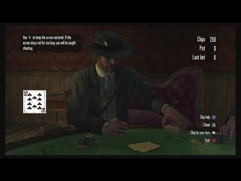 Red Dead Redemption How To Cheat At Poker