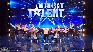 Britains Got Talent 2018 Rise Inspirational Dance Crew Full Audition S12E02