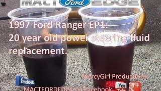Ford Ranger Project Ep Power Steering Fluid Change
