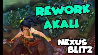 Le rework d'Akali sur le nouveau mode de LoL : Nexus Blitz Gameplay
