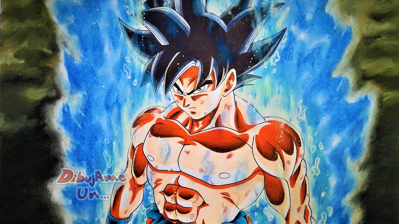 Cómo Dibujar A Goku Migatte No Gokui/ Ultra Instinct