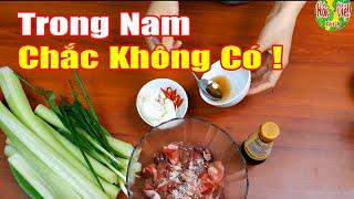 Dọc Mùng Xào Lòng Gà | Hồn Việt Food